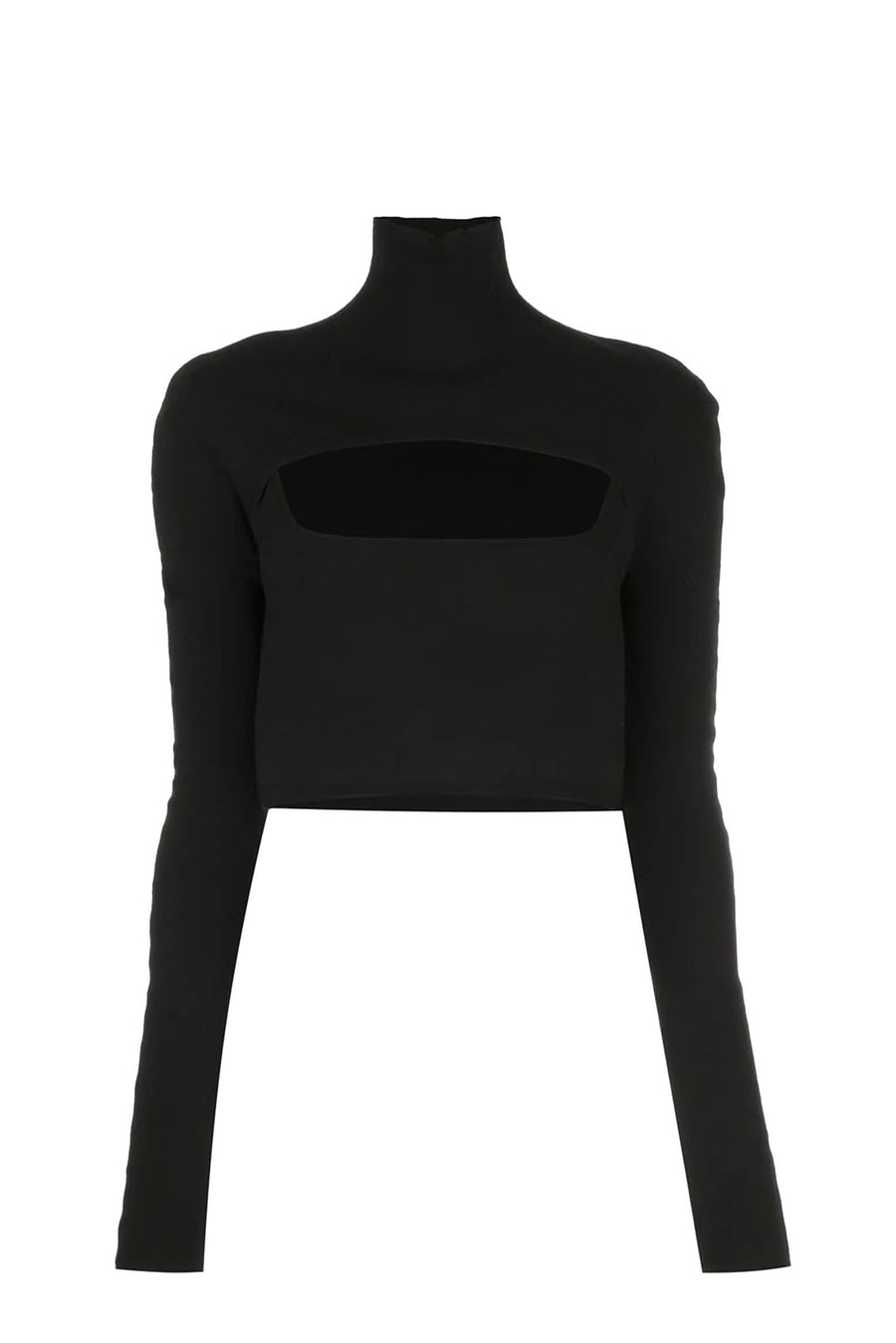 Dion Lee Merino Stirrup Top in Black from The New Trend