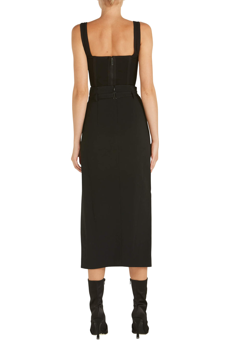 Dion Lee Rib Jersey Corset Black from The New Trend