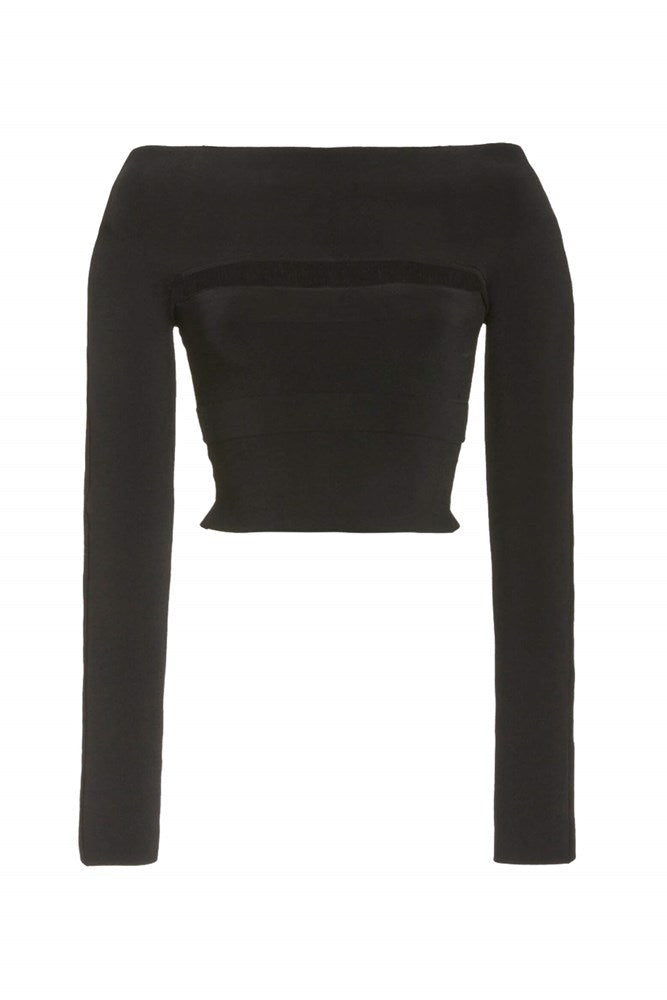 Dion Lee Two Piece Tube Top in Black from The New Trend