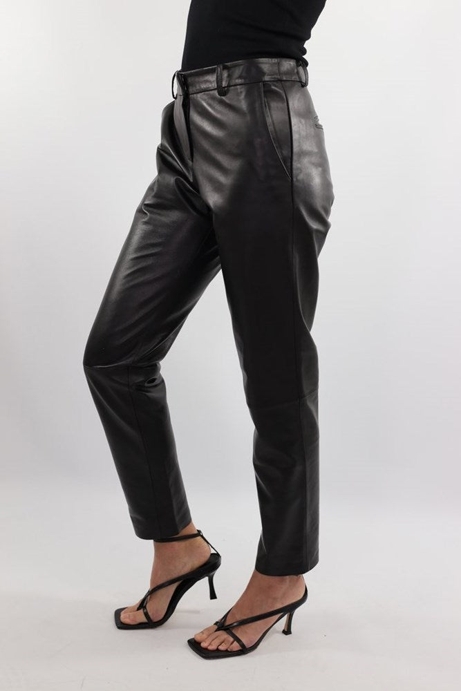 Ducie London Dakota Leather Pant in Black from The New Trend