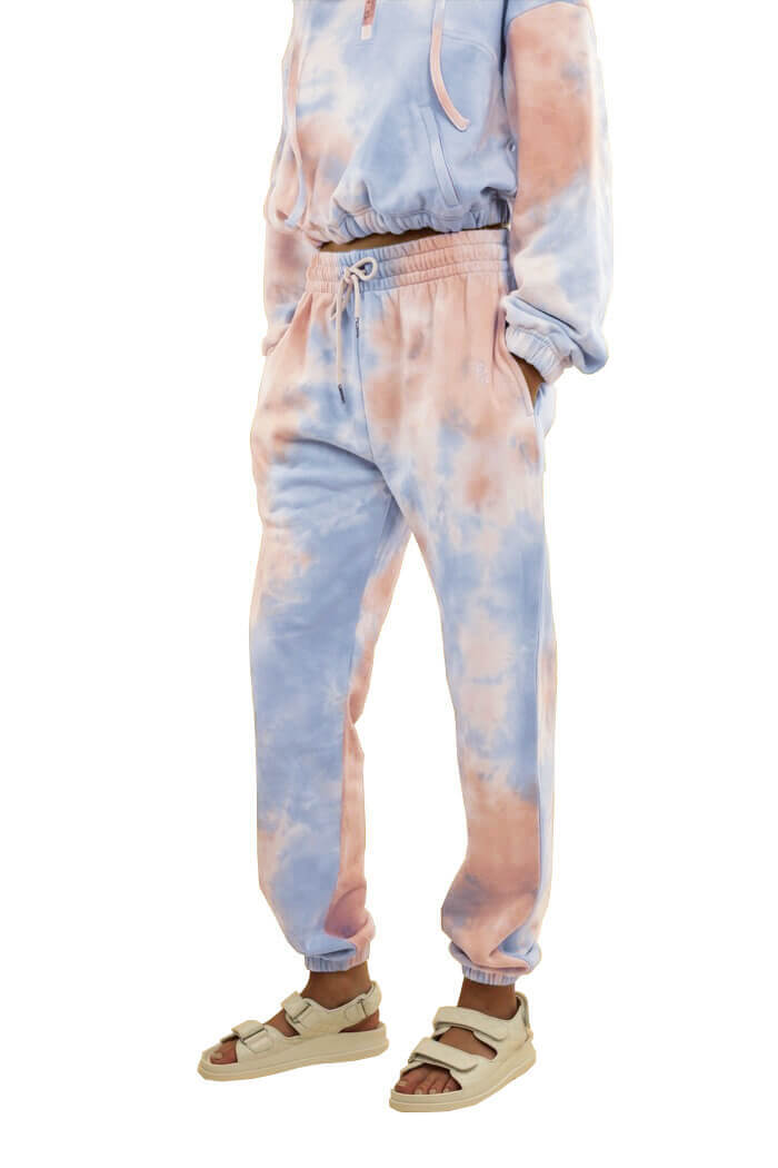 Ducie London Este Joggers in Candyfloss from The New Trend