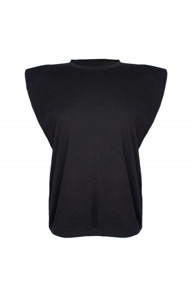 Ducie London Saskia Tee in Black from The New Trend