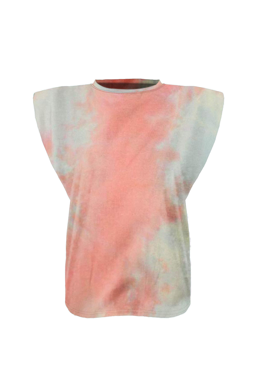 Ducie London Saskia Tee in Sky Tie Dye from The New Trend