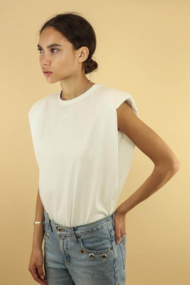 Ducie London Saskia Tee in White from The New Trend