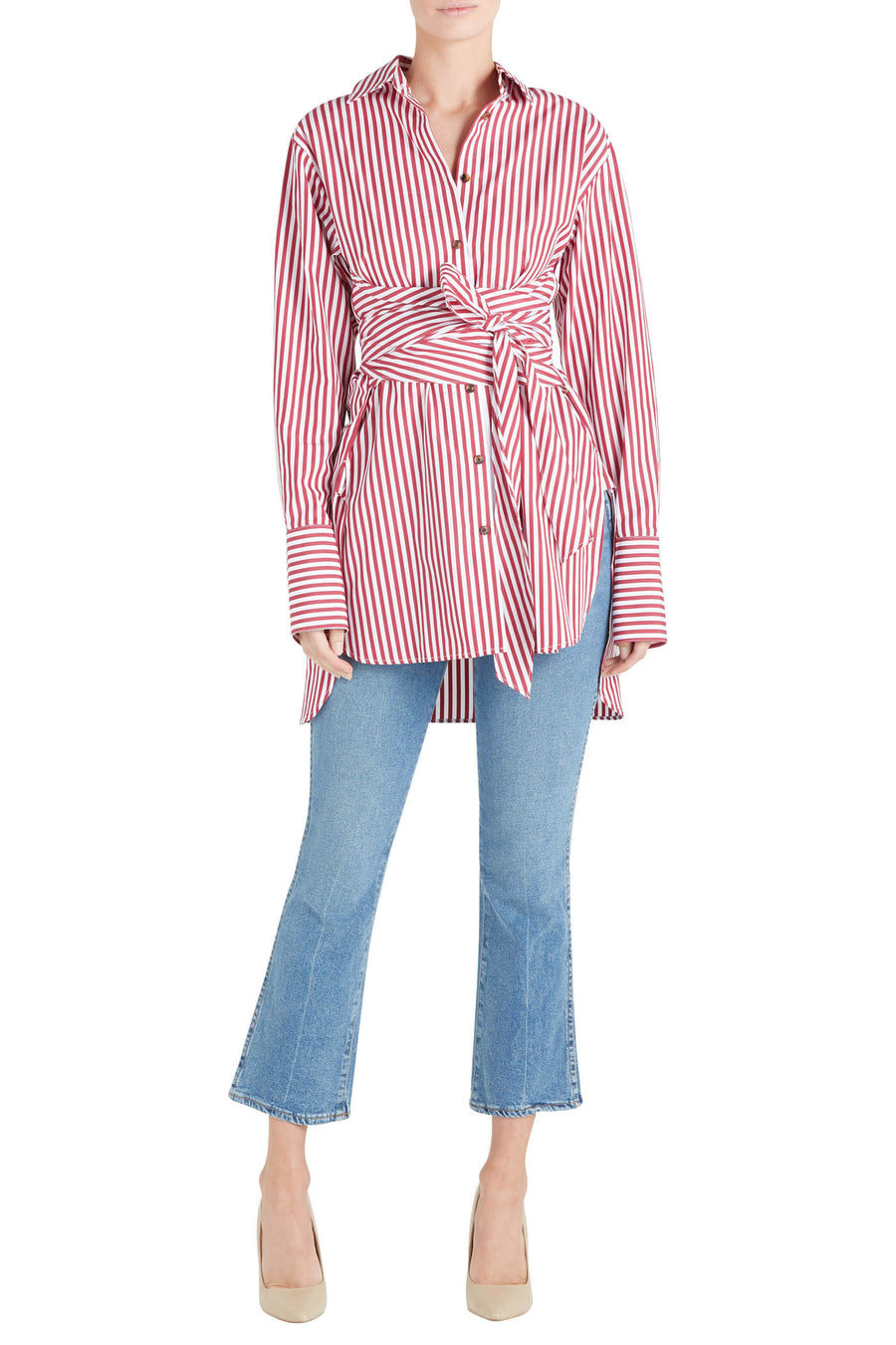 BIANCA WRAP SHIRT