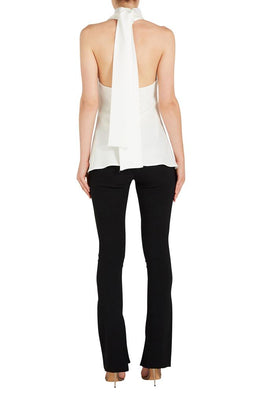 LIMOGES HALTER NECK TOP