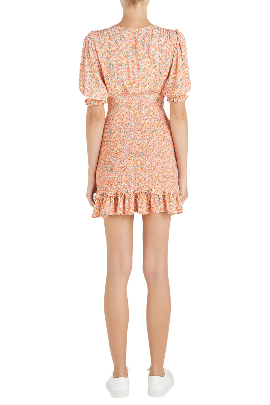 Faithfull The Brand Margherita Summer Mini Dress from The New Trend