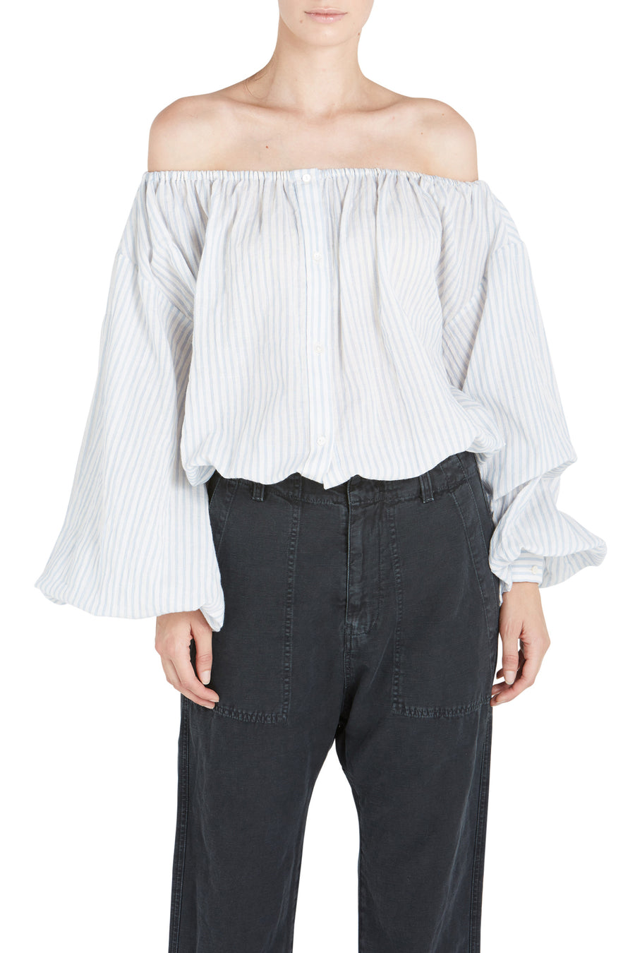 ROXIE OFF SHLDR BLOUSE