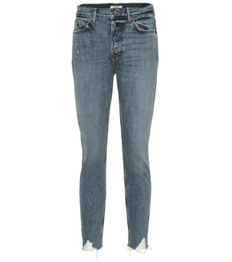 GRLFRND Karolina High Rise Skinny Forget Me Never from The New Trend