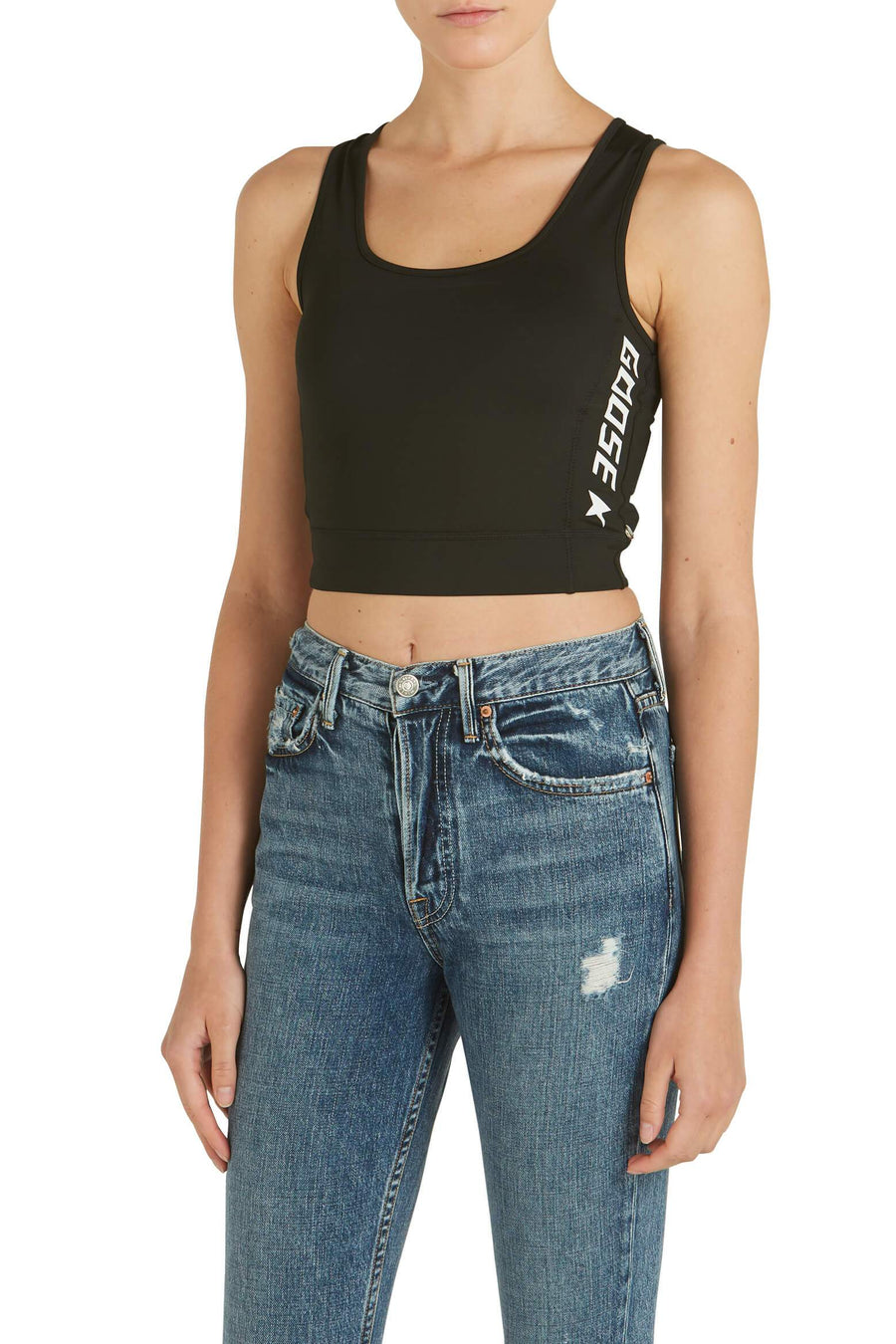 Golden Goose Keshi Top in black from The New Trend