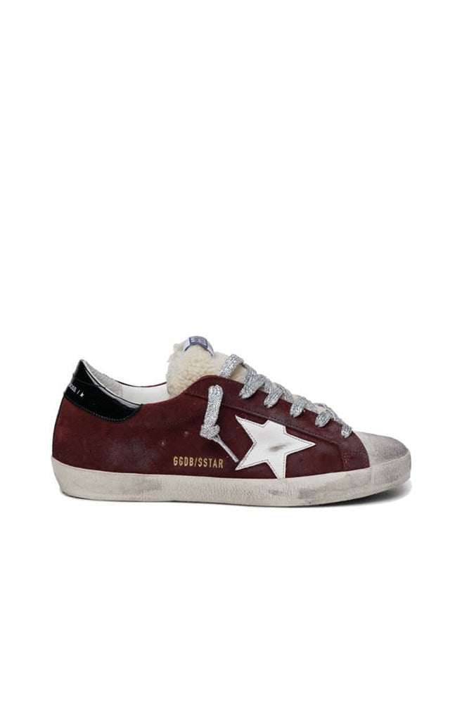 Golden Goose Superstar Sneakers in Ice/Sienna/Black from The New Trend