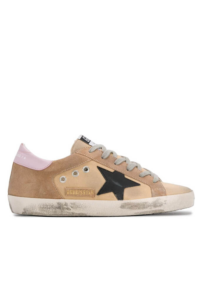 Golden Goose Superstar Sneakers Sand Canvas | The New Trend