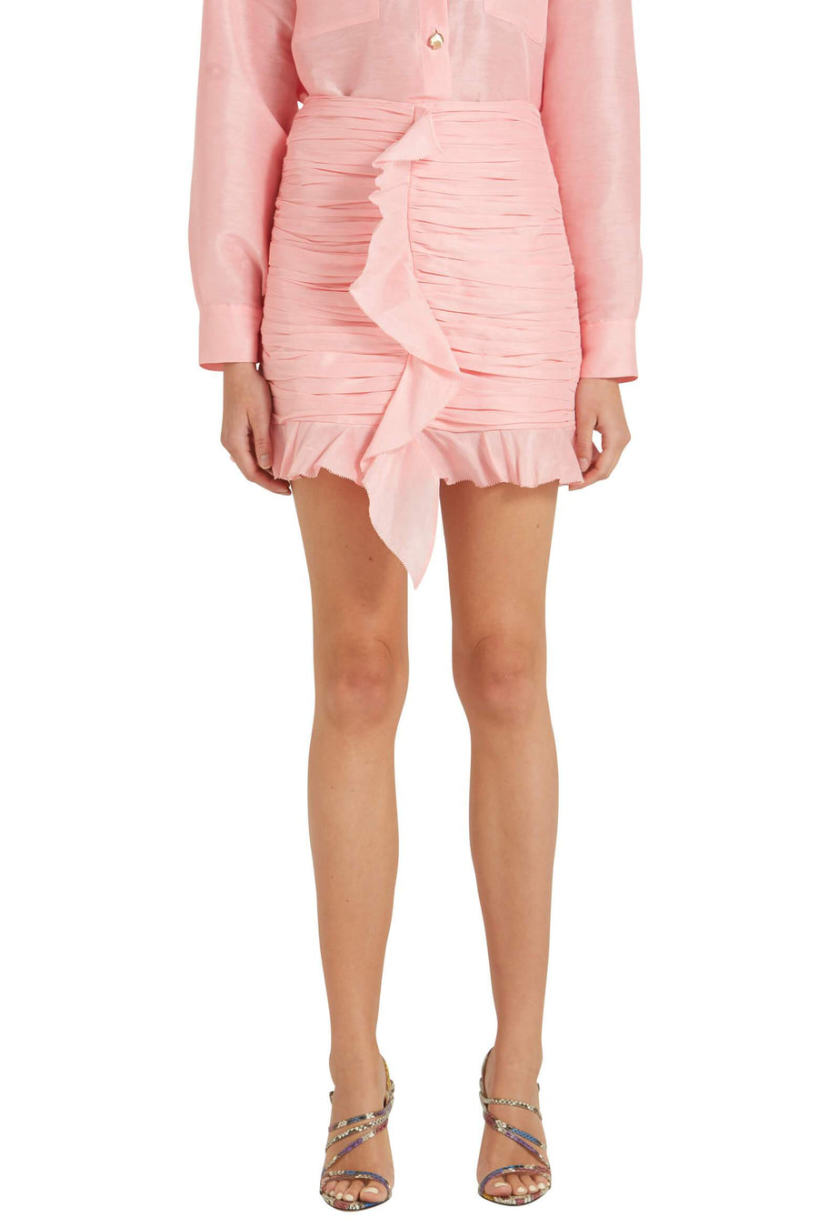 Hansen & Gretel Levi Skirt in Pink Fizz from The New Trend