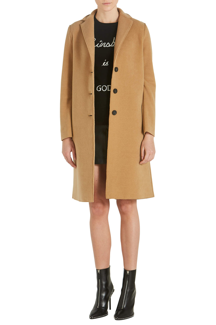 Harris Wharf London Women Overcoat Polaire from The New Trend