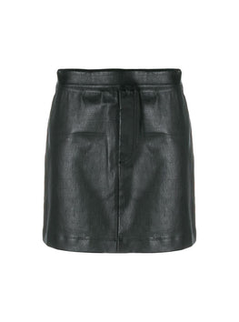 Helmut Lang Stretch Leather Mini Skirt from The New Trend