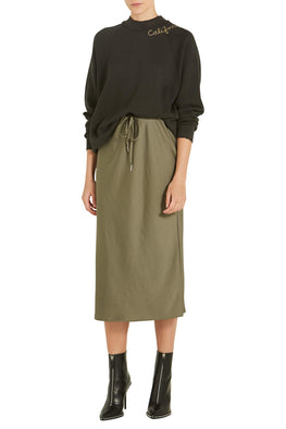 Alexander Wang Wash & Go Skirt in Cargo from The New Trend