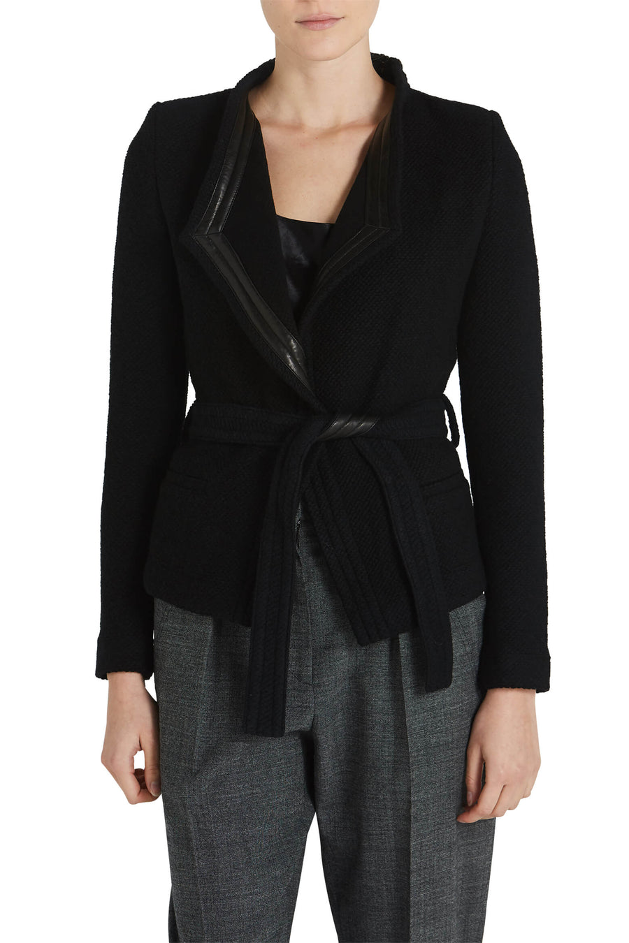 IRO Awa Jacket in black from The New Trend