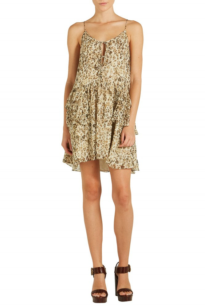 IRO Buzon Leopard Cami Dress from The New Trend
