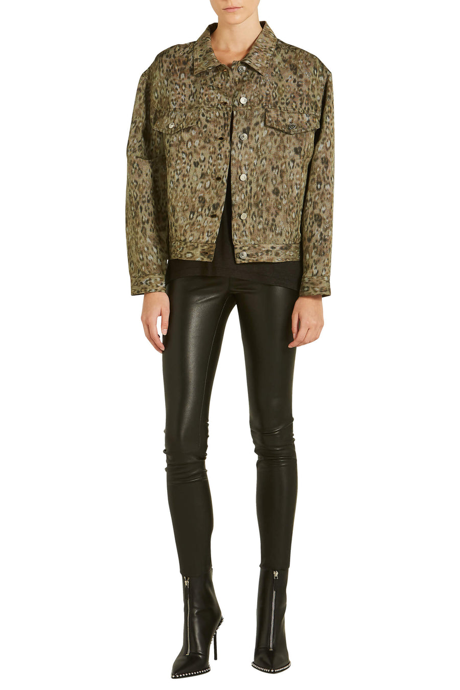 IRO Empathy Leopard Jacket from The New Trend