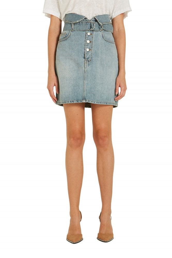 FILEX DENIM SKIRT