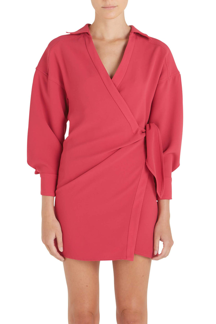 IRO Musea Dress in Fuchsia from The New Trend