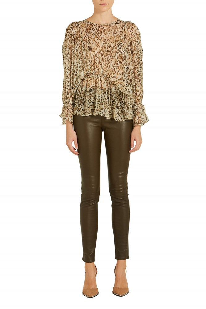 IRO Saggi Leopard Top from The New Trend