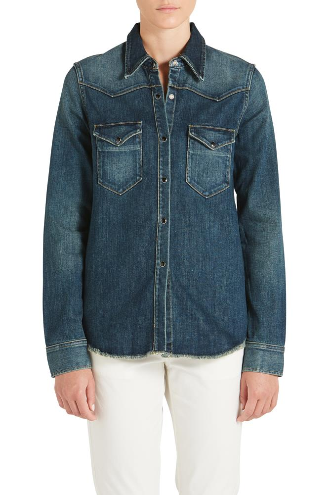 TRAVIS DENIM SHIRT
