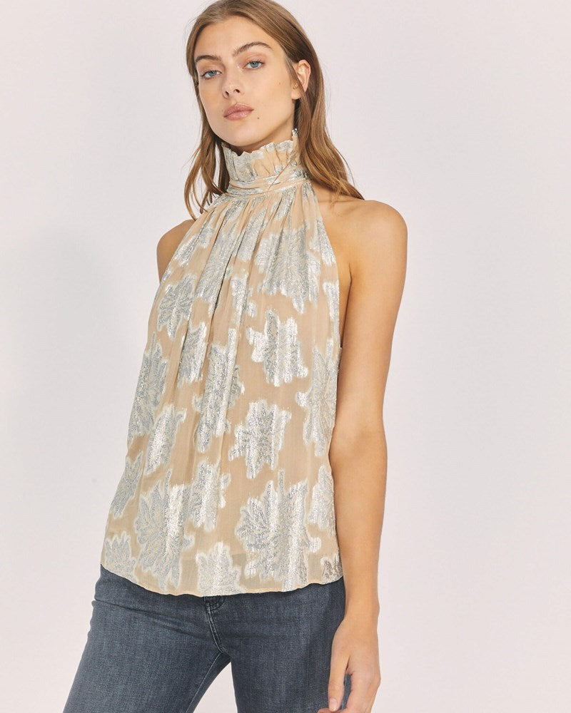 Iro Lazana Top in Beige from The New Trend