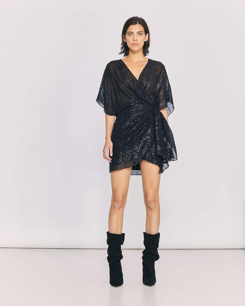 Iro Reynea Dress in Black from The New Trend