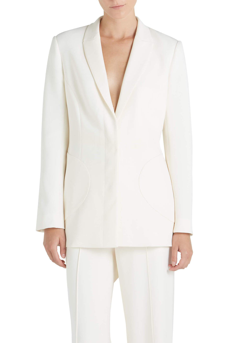 Wendy Crepe Blazer at The New Trend
