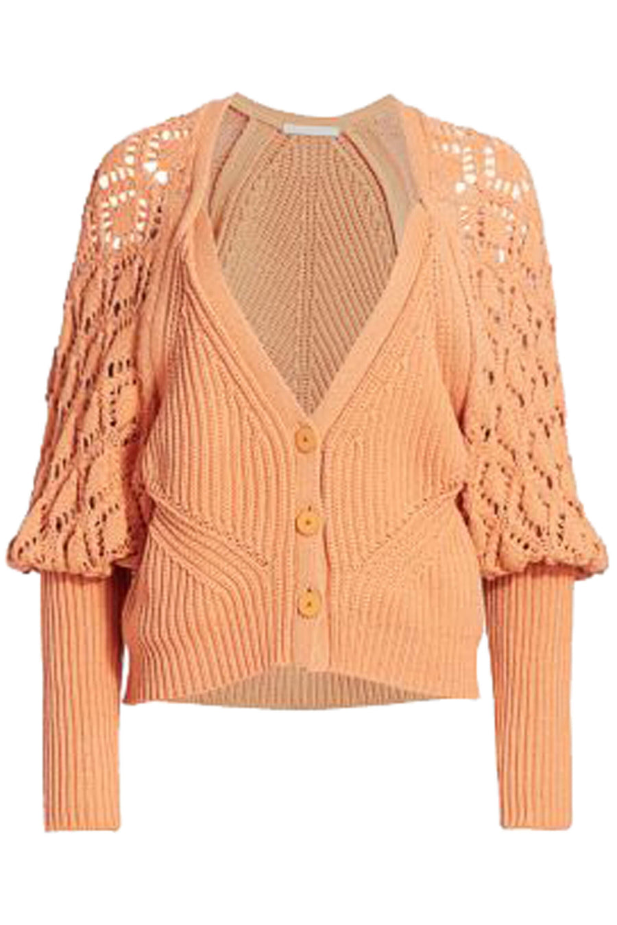 Adeline Directional Rib Cardigan by Jonathan Simkhai at The New Trend