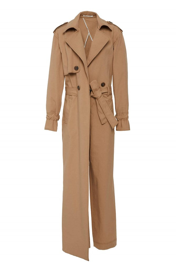 Jonathan Simkhai Harlow Trench Jumpsuit from The New Trend