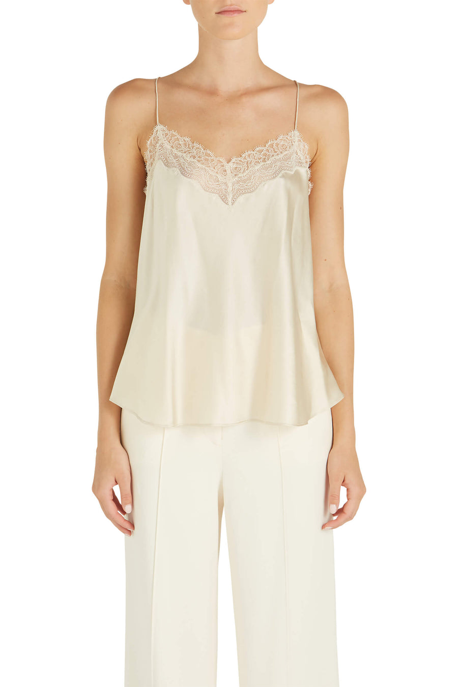 Silk Lace Cami by Jonathan Simkhai at The New Trend