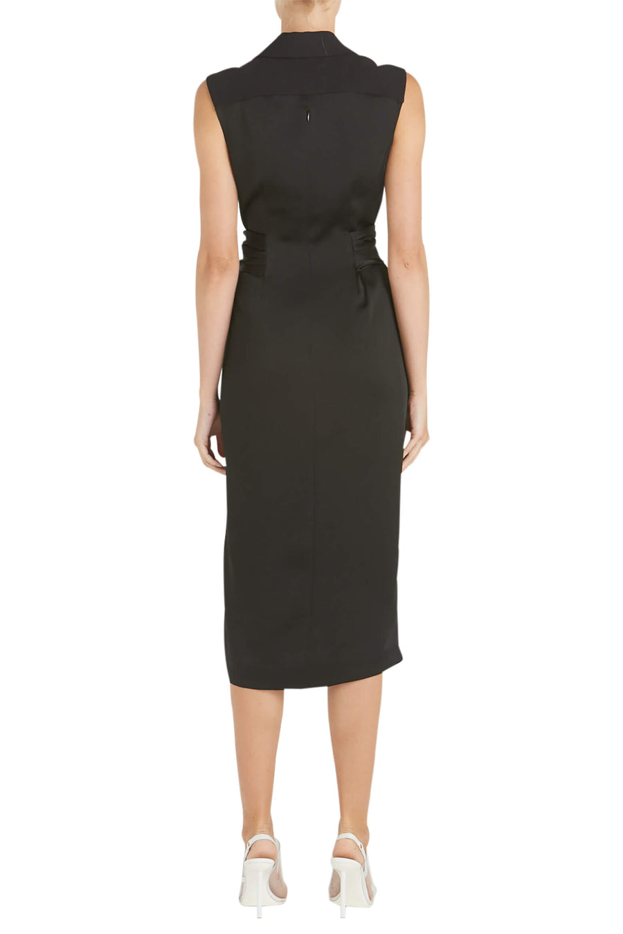 Jonathan Simkhai Luxe Satin Twist Dress from The New Trend