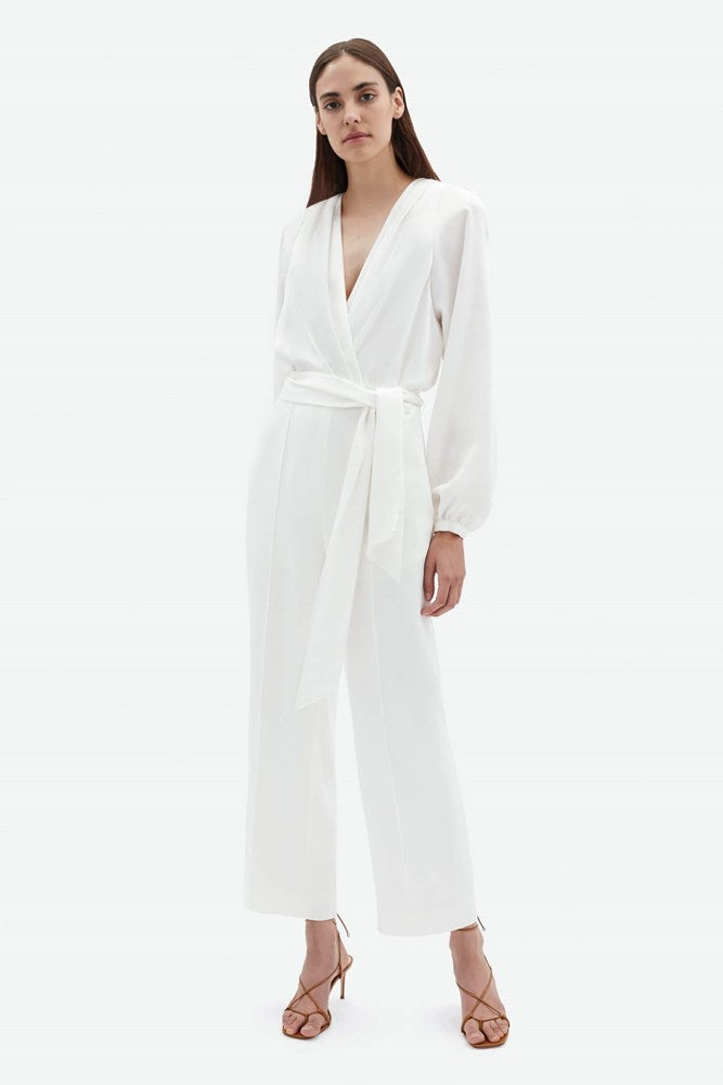 Jonathan Simkhai Piper Combo Wrap Jumpsuit from The New Trend