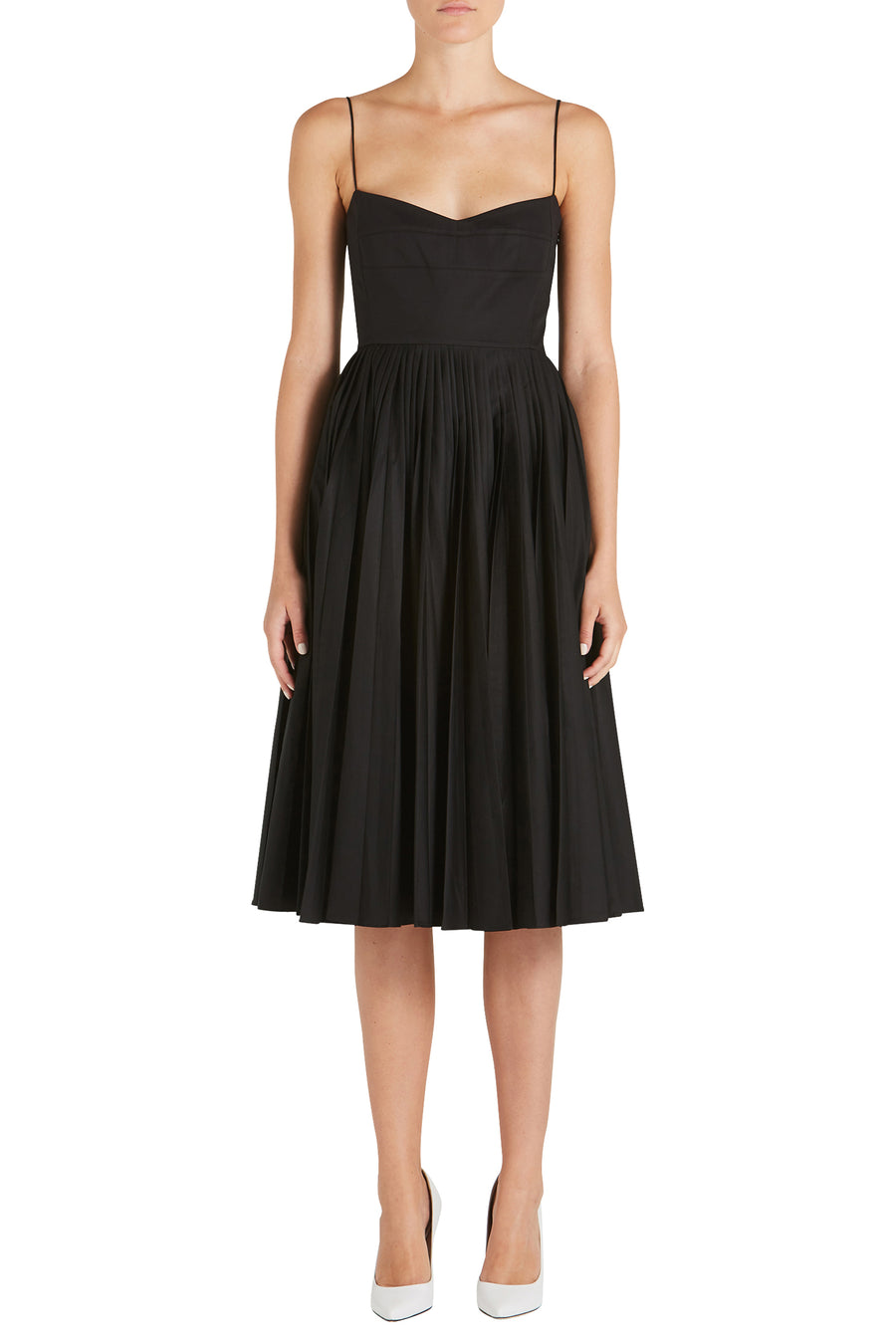 PAMELA PLEATED DRESS