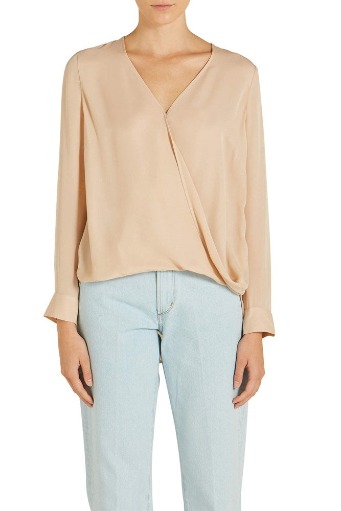 L'agence Kyla Wrap Blouse from The New Trend