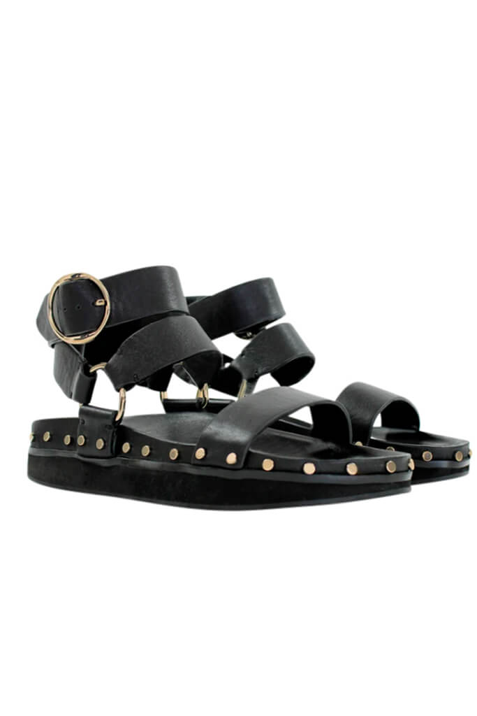 La Tribe Studded Sandal available at The New Trend