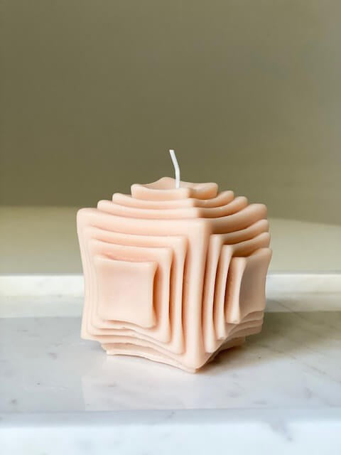 Le Lit Pepe Candle in Peachy from The New Trend
