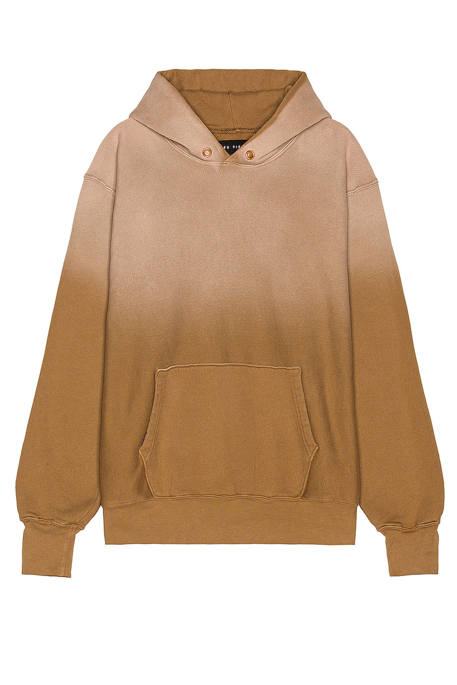 Les Tien Cropped Hoodie in Sand Ombre from The New Trend