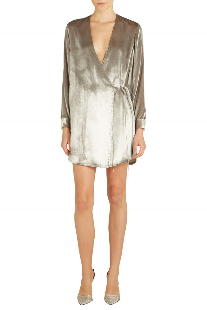 Dress Jacket in silver by Michelle Mason from The New Trend