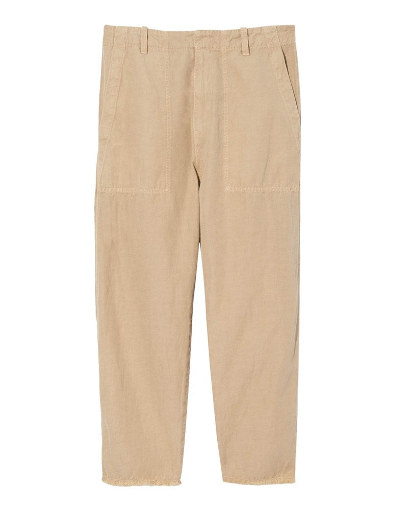 Nili Lotan Luna Pant in Desert Sand from The New Trend