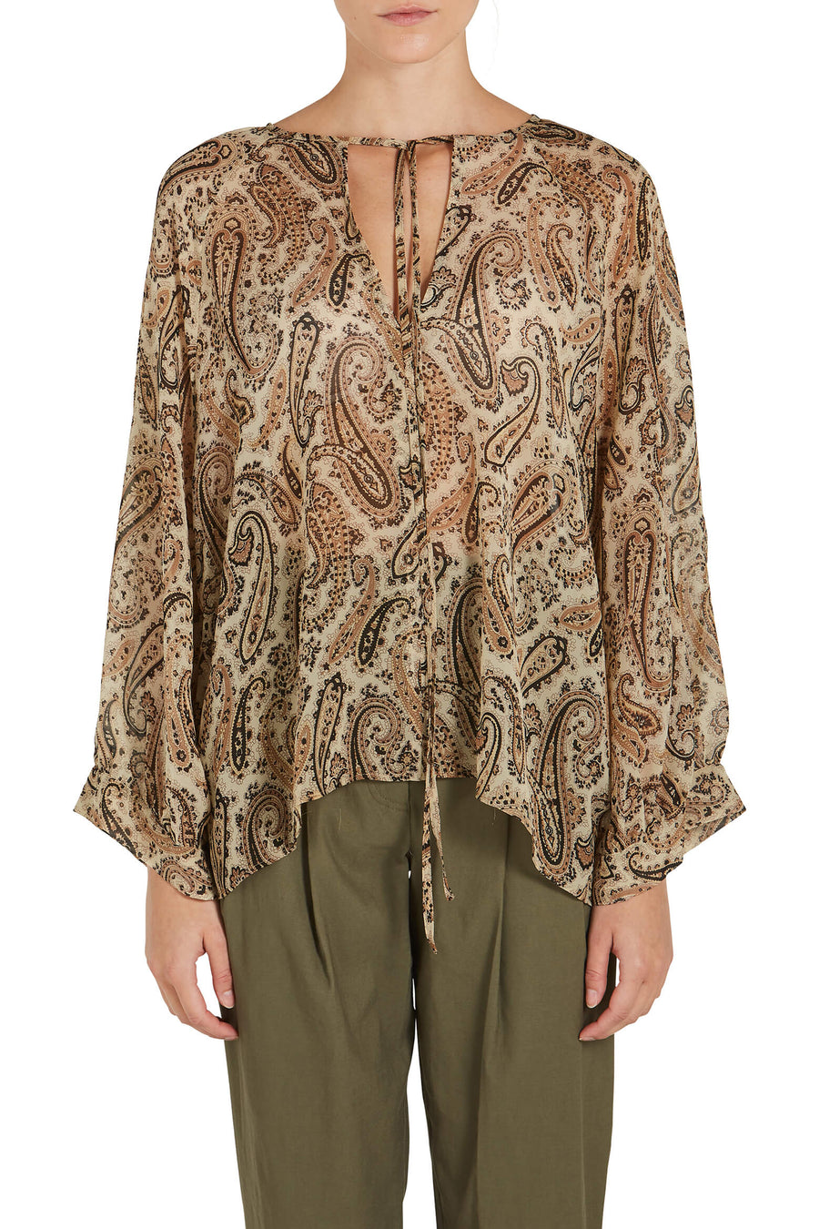 Nili Lotan Acadia Blouse from The New Trend