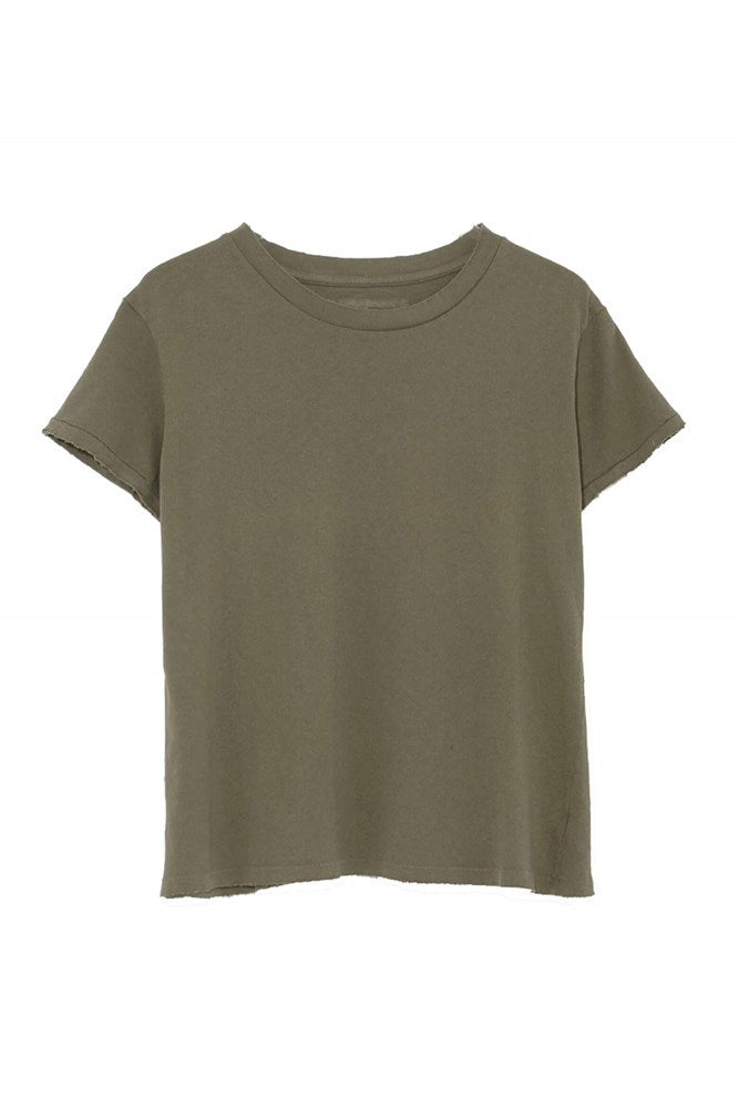 Nili Lotan Brady Tee in Army Green from The New Trend