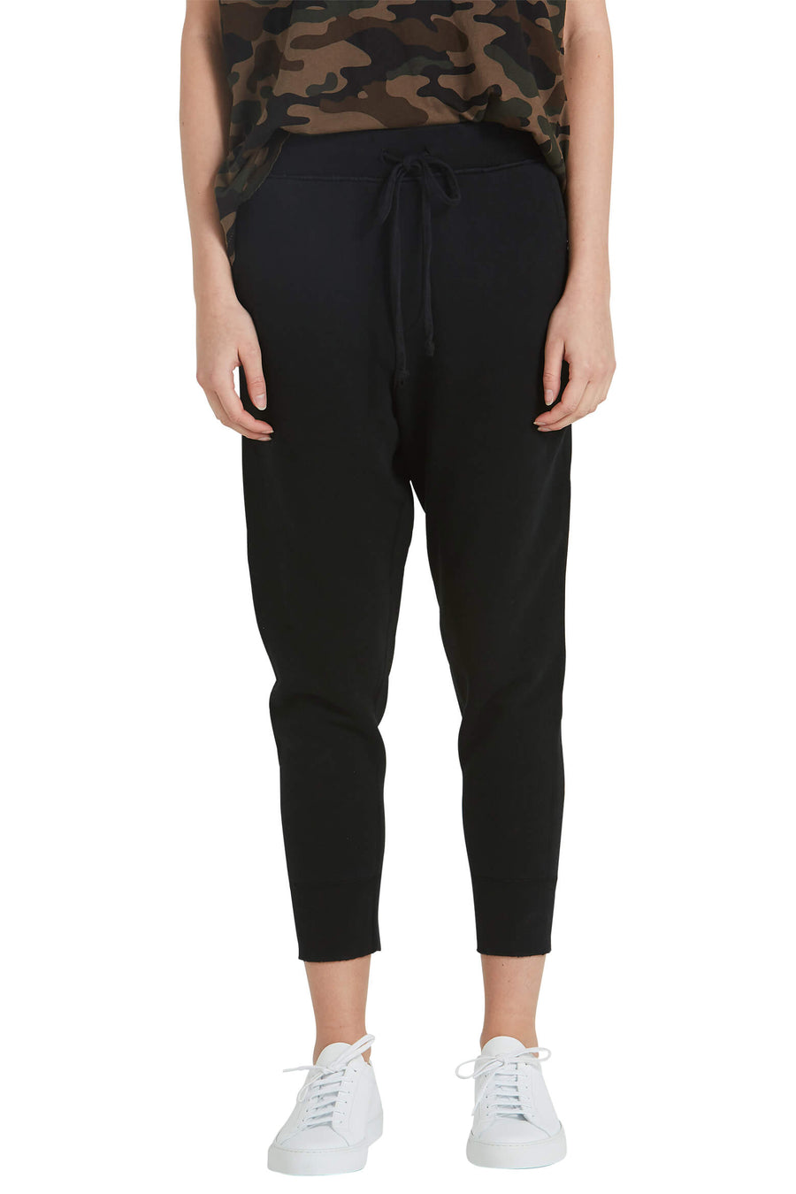 Nili Lotan Nolan Pant in Black from The New Trend