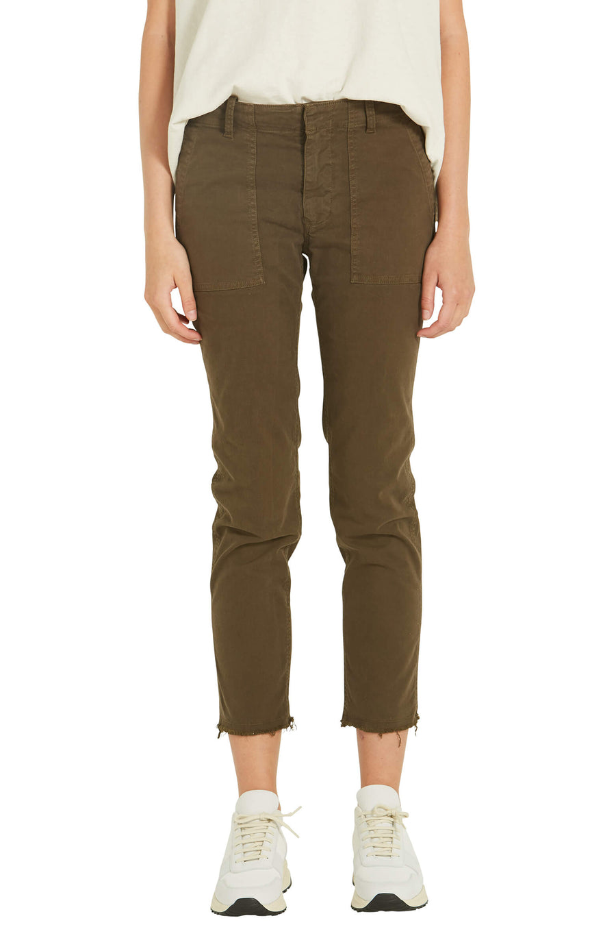 Nili Lotan Jenna Pants in Mocha from The New Trend