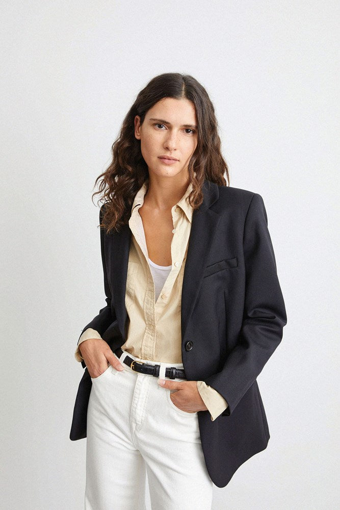 Nili Lotan Daniel Jacket in Black from The New Trend