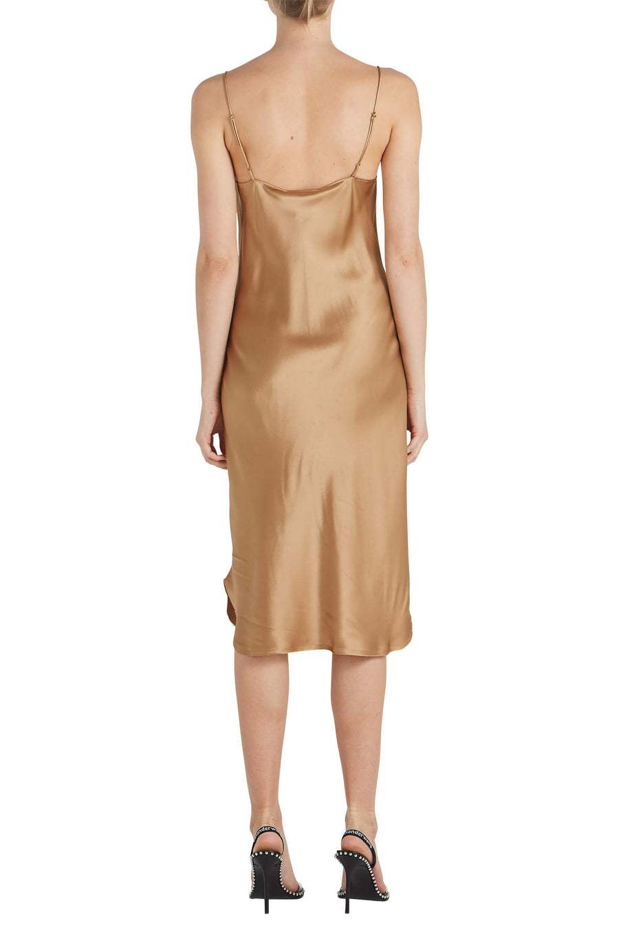 Nili Lotan Junie Dress in Ginger from The New Trend