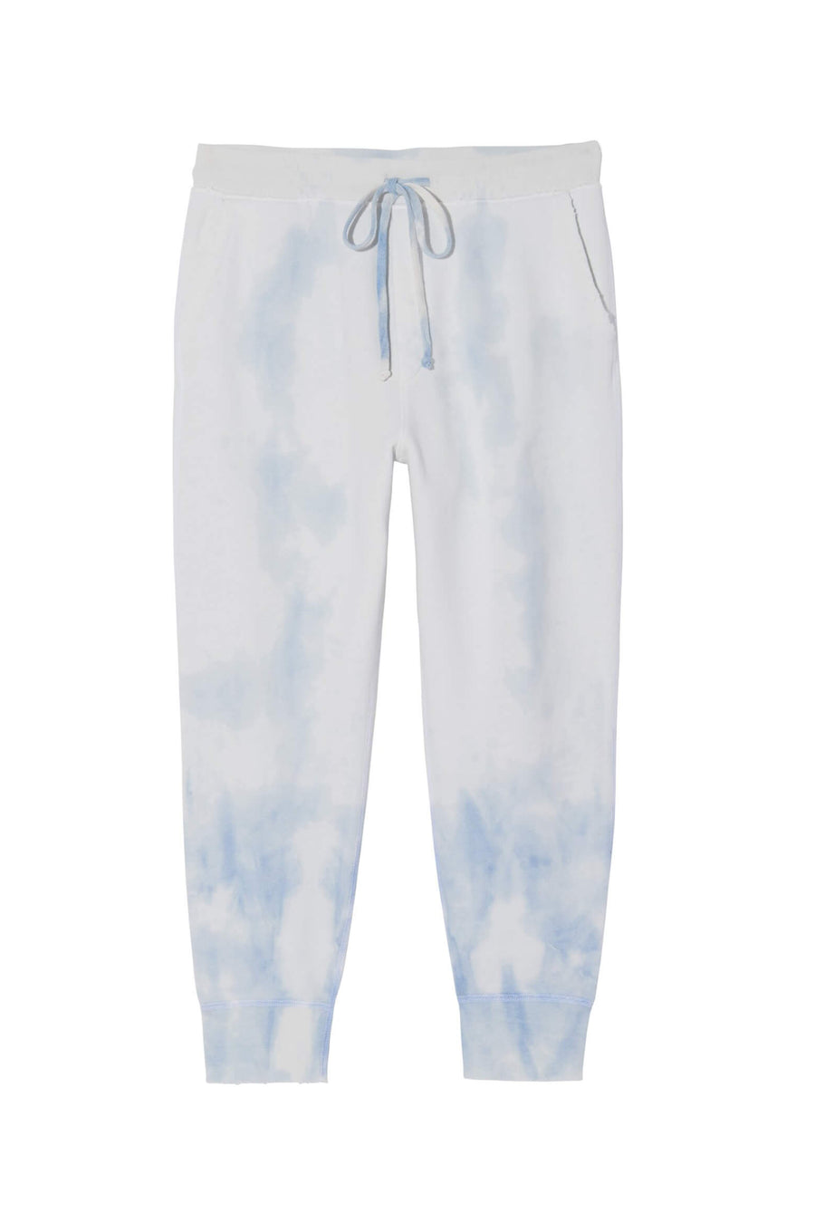 Nili Lotan Nolan Pant in Blue Tie Dye from The New Trend