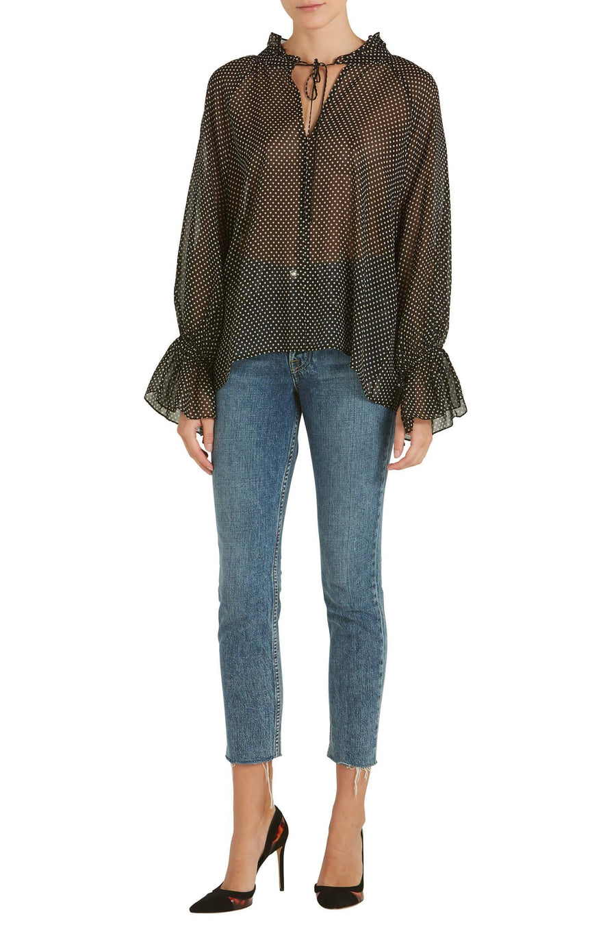 Nili Lotan Royan Blouse from The New Trend